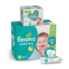 Pampers Baby-dry 1 month supply